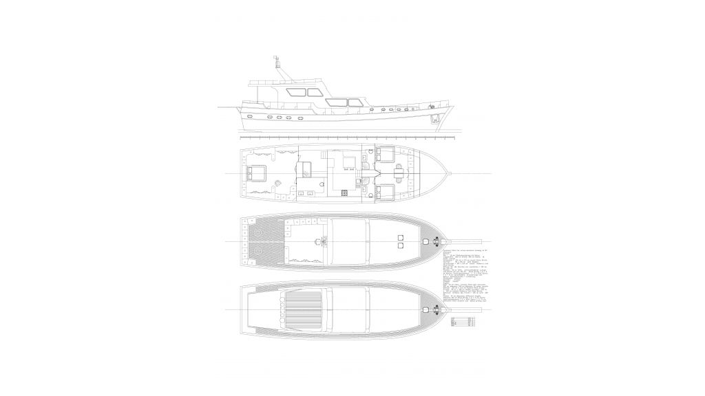 3 Cabins Luxury Transom Gulet (54)