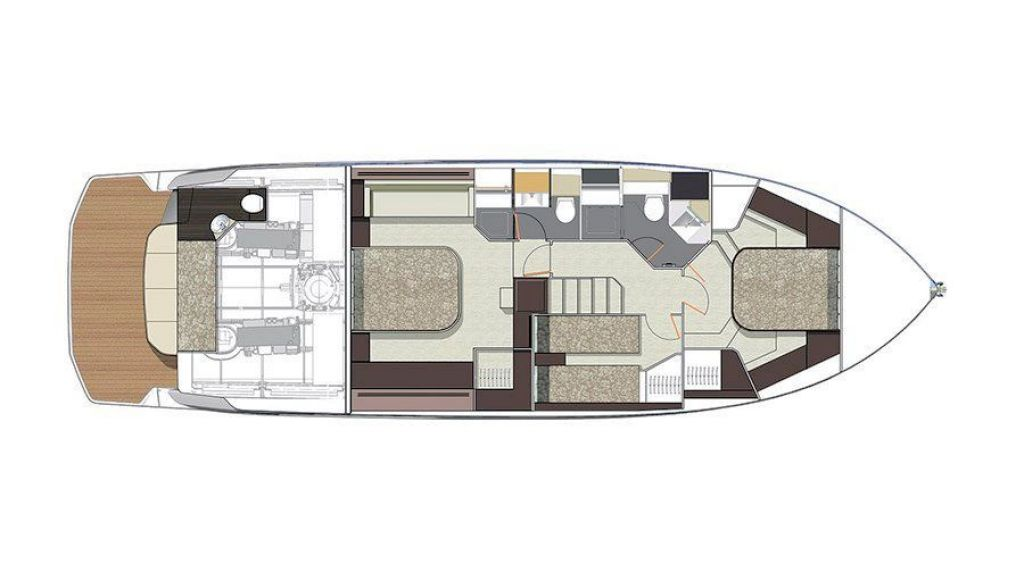 Cranchi-E-52-F-Evoluzione (20) - layout