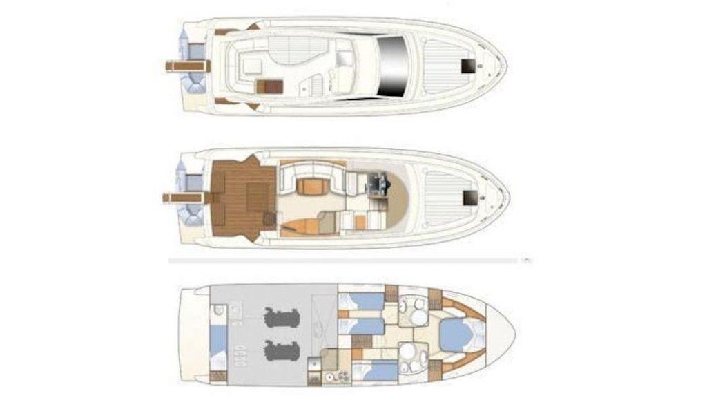 Ferretti 460 (16) - layout