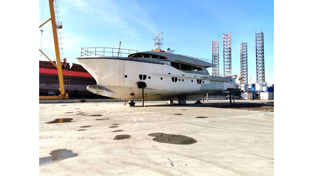 Steel Hull 30m Proje Motor Yacht (1)
