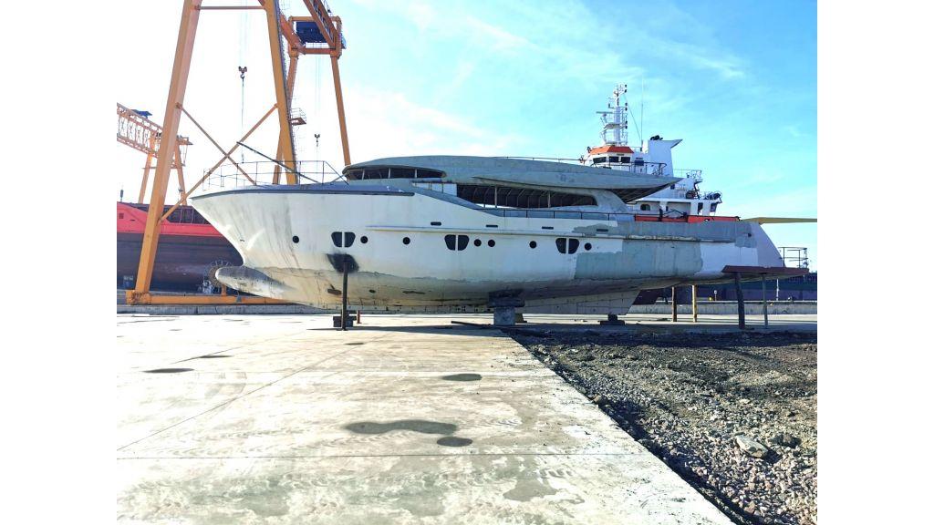 Steel Hull 30m Proje Motor Yacht (2)