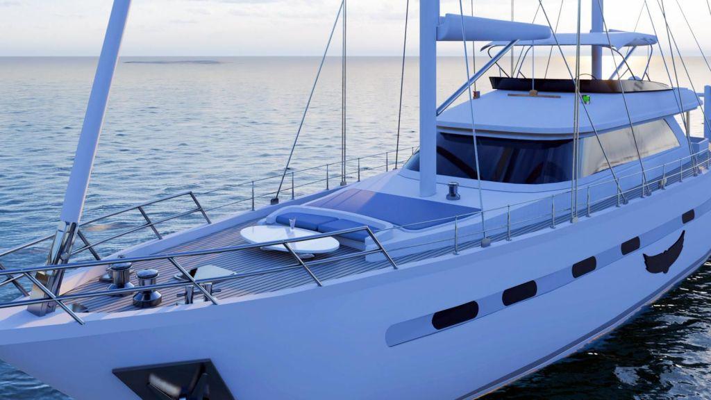 Flybridge Sailing Yacht (1)