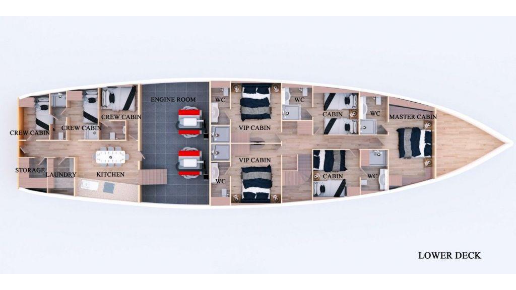 Flybridge Sailing Yacht (16 ) (2)
