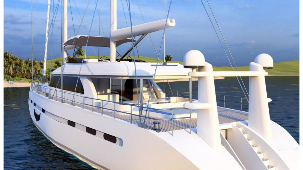 Flybridge Sailing Yacht (8)