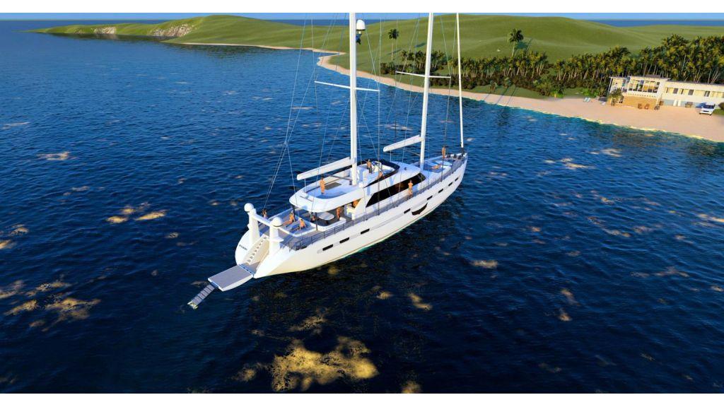 Flybridge Sailing Yacht (9)