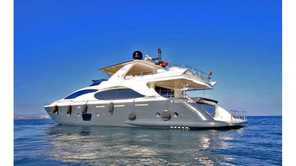 Azimut 88 motor yacht (2)