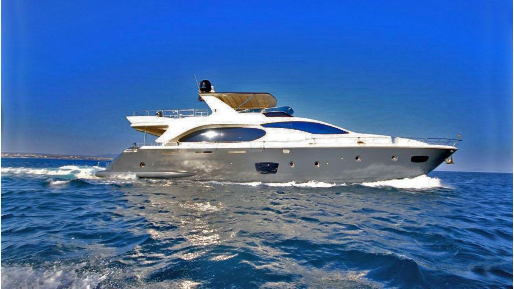 Azimut 88 motor yacht