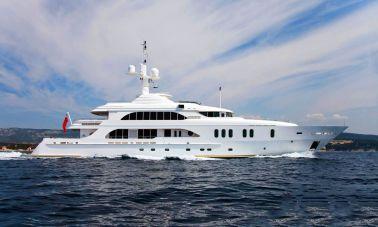 Luxury 50m Aluminum Yacht