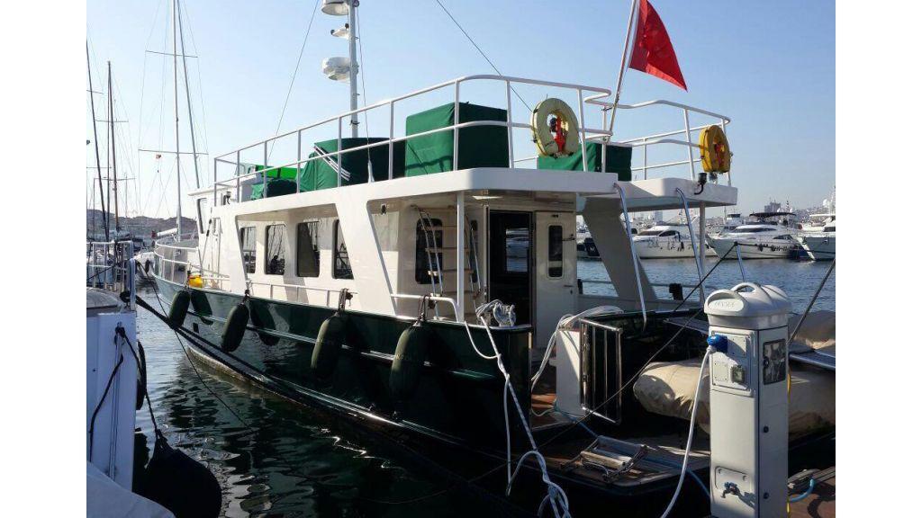 16m steel trawler for sale in Turkey (10)