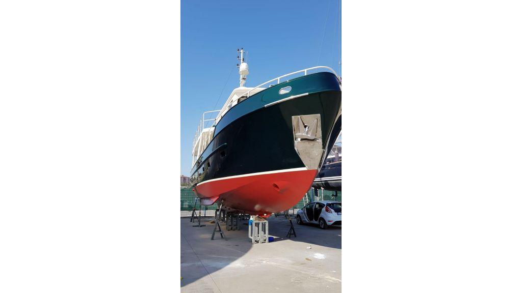 16m steel trawler for sale in Turkey (4)