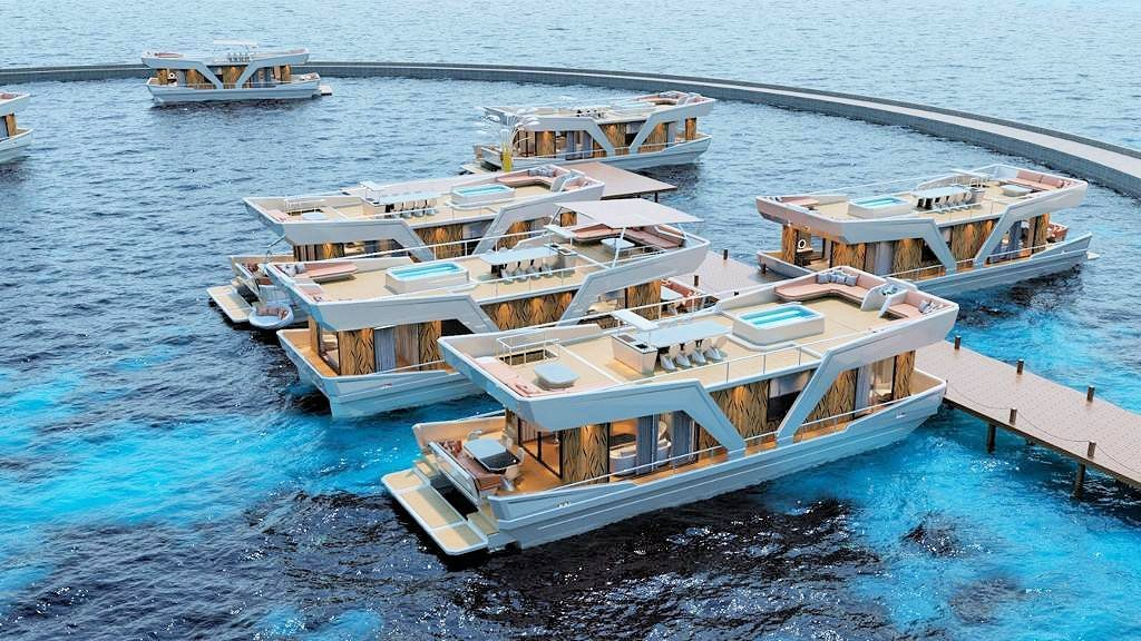 60Ft Floating House (2)