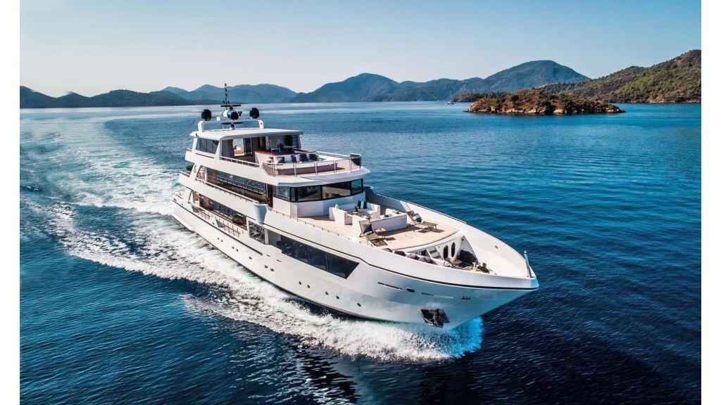 Trideck 45m Motor Yacht