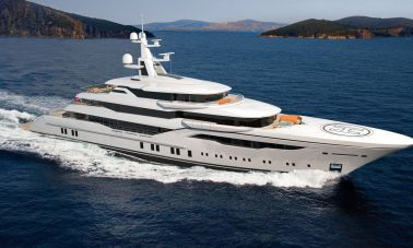 74m Mega Yacht in Construction (1)