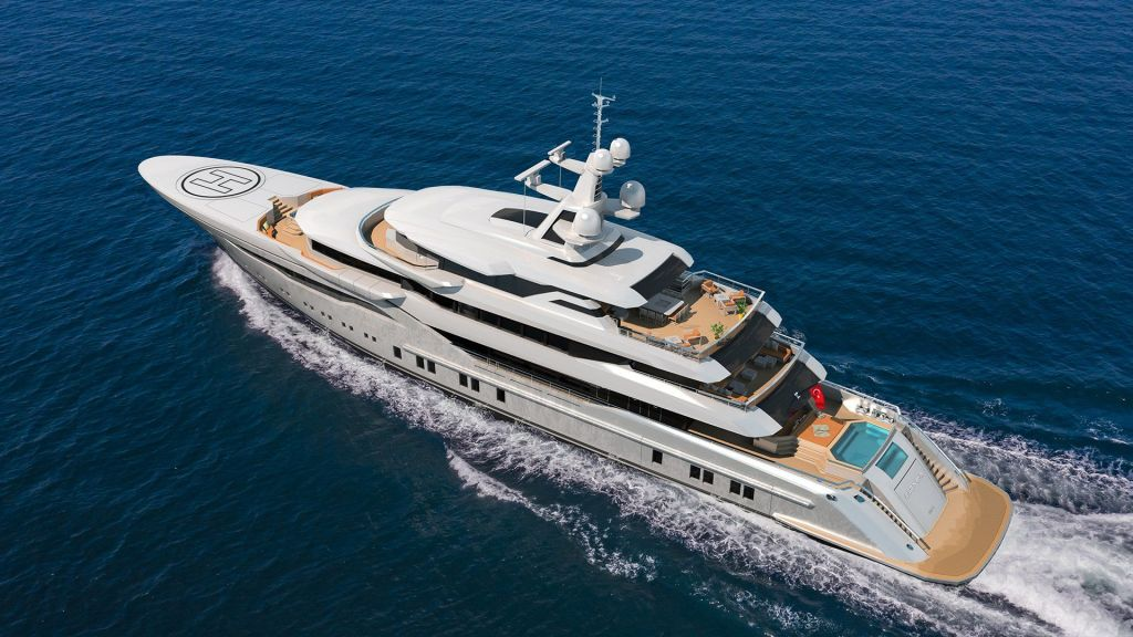 74m Mega Yacht in Construction (3)