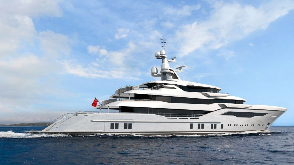 74m Mega Yacht in Construction (5)
