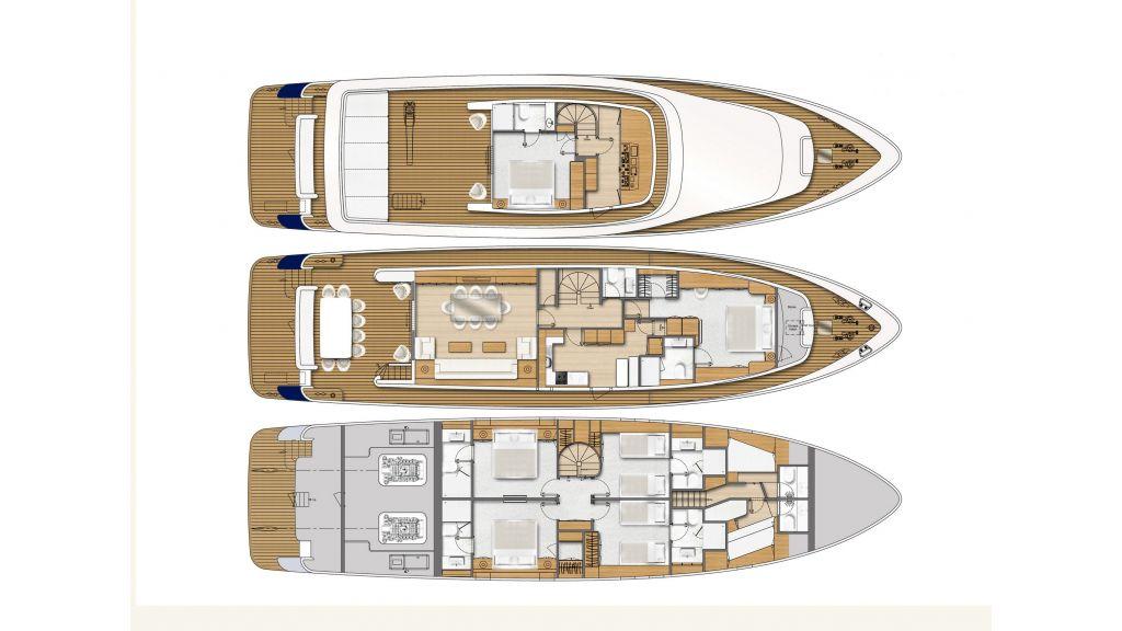 Navetta Style Motor Yacht (30)