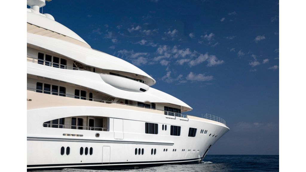Lurssen Built Super Yacht (1)