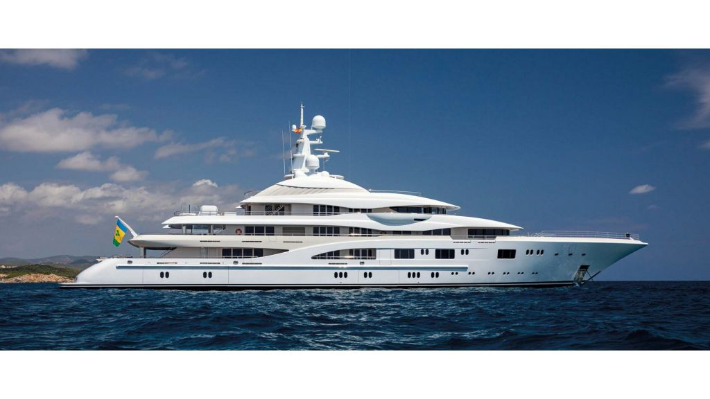Lurssen Built Super Yacht (2)
