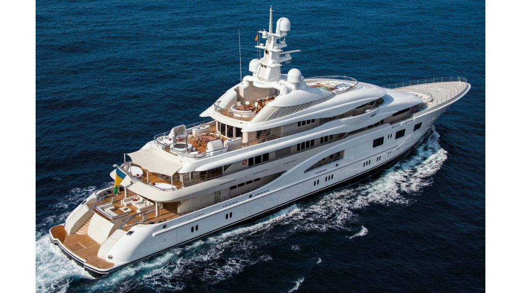 Lurssen Built Super Yacht (3)