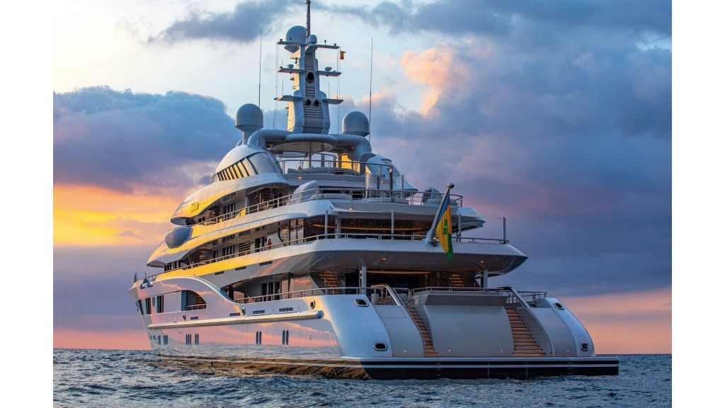 Lurssen Built Super Yacht (5)