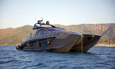 Klas luxury power catamaran
